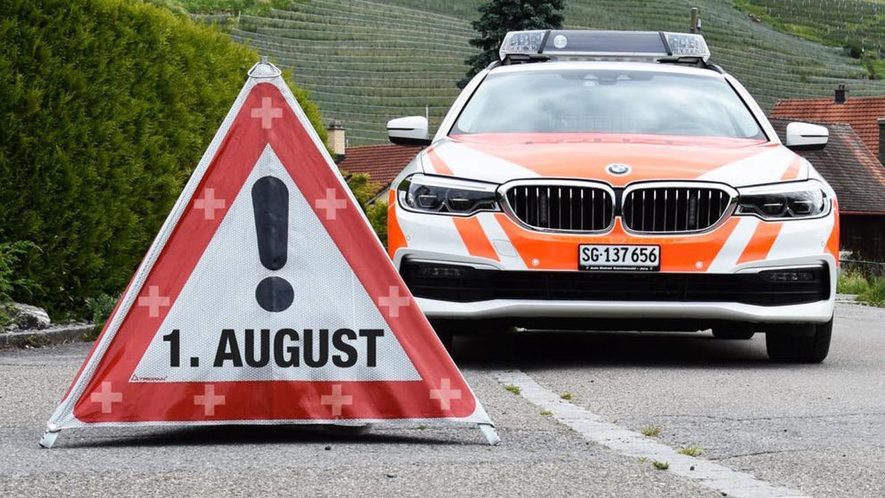 St. Galler Kantonspolizei rückte 25 Mal wegen Ruhestörungen aus