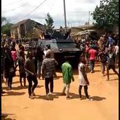 Dabou / La Gendarmerie nationale bloquée par la population : les images