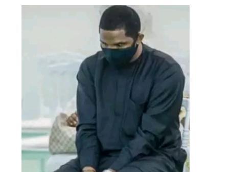Voici l'image de Samuel Eto'o affligé et devasté aux obsèques d'Hamed Bakayoko