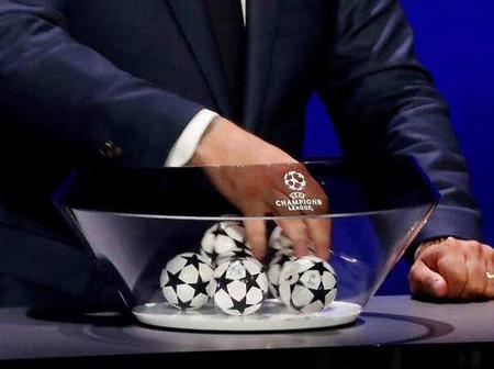 Chelsea, Man United, Liverpool and Man City Potential Champions League Opponents Confirmed.