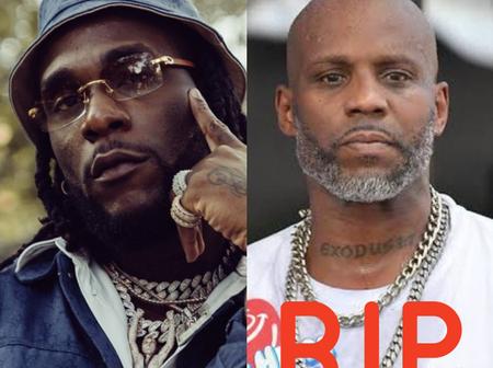 Grammy Award Winner, Burna Boy Mourns The Death Of America Rapper, DMX (Reactions)
