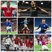 After Paul Pogba Scored For Man Utd vs Fulham, See The Top 9 Most Scoring Midfielders In The EPL