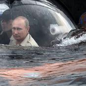 The Adventurous Trip Of President Vladimir Putin To Bottom Of Black Sea. This Is What He saw.