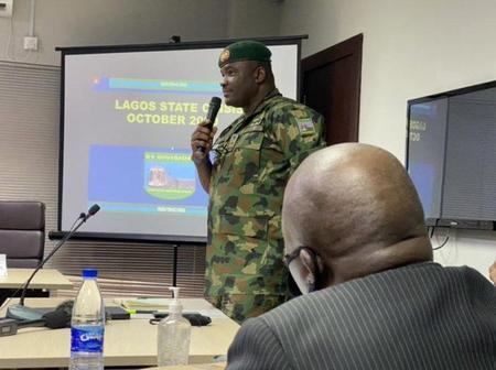 Days After This Soldier Said Soldiers Were At Lekki With Live Bullets, See What Was Done To Him