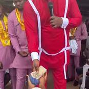 Popular Anambra Pastor Shares Thousands Of Naira To Some Of His Church Members (photos)