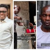After this man heard the story of this blind man who makes 200 Naira daily, check out what he did