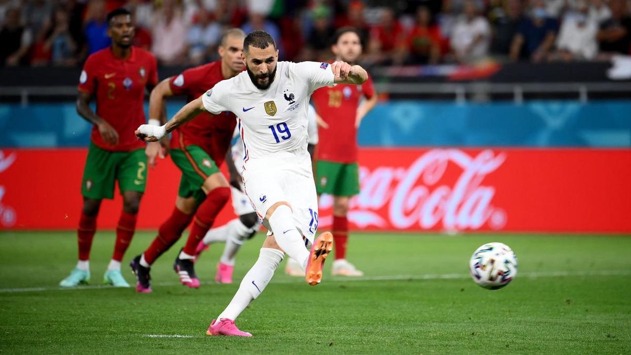 Portugal - France : Un penalty généreux et cinq ans après, Benzema est de nouveau buteur avec les Bleus