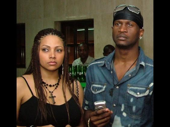 Image result for Peter Okoye and Lola Omotayo