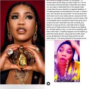 Wrong Accusations On Toyin Lawani As Instablog Made A Wrong Caption On A News About Her