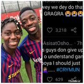 After Man U Disappointing Draw Vs Crystal Palace, See What Barca Star Who Is A Huge Man U Fan Said