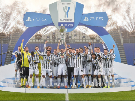 Juventus Won The 14th SuperCoppa Italiana Cup After Beating Napoli In The Final