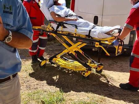 NEWS IN : Farm attack in Paarl Western Cape leaving an Elderly Woman Critical.