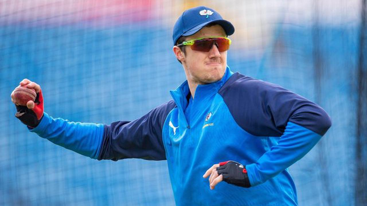 Yorkshire CCC's Tom Kohler-Cadmore adding wicketkeeping techniques to his all-round game