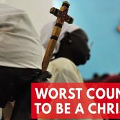 Being a Christian can be a death sentence: Here the most dangerous countries for Christians