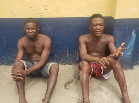 Two cult group members who launched attacks on residents of Ebute Metta land in Lagos police net