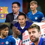 Fumes At Barca's Dressing Room As Defender Causes Rift, Chelsea Star Midfielder Set To Return & More