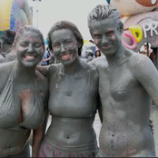 See The Only Country Where People Rub Themselves In Mud During Festival (Photos)