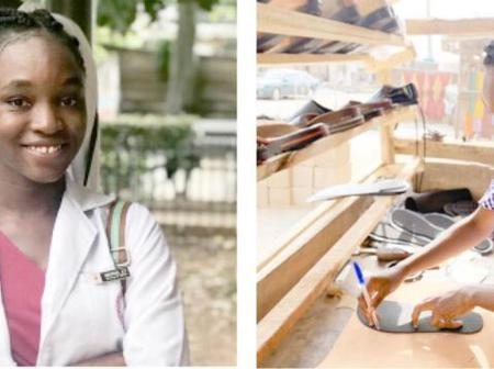Meet The University Of Ibadan Student Who Is Ready To Quit Medicine For Shoemaking
