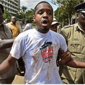 Kenyans Angered By Controversial Blogger Boniface Mwangi's Statements  On Kenya Police Service