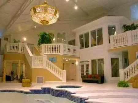 This Is An Interior Of  Bishop David Oyedepo's Mansion