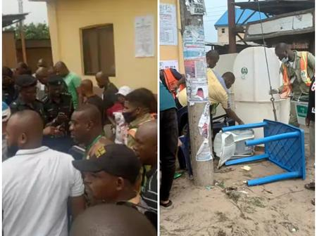 AbaDecides2021: Bomb Explodes In Aba Polling Station (Photos)