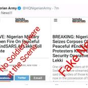Breaking News: Nigerian Army denies Shooting Protesters.