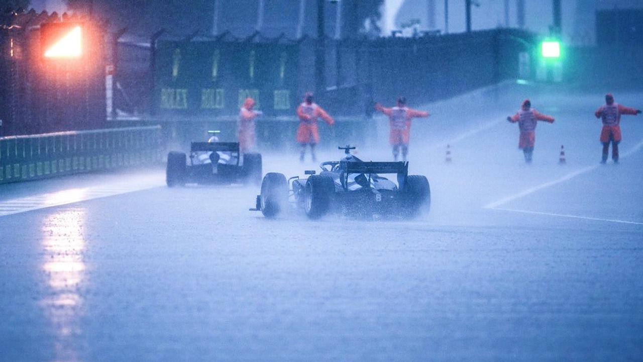 Formel 1: Qualifying läuft nach Starkregen in Sotschi