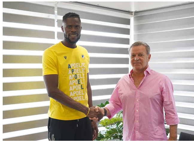 ?Super Eagles goalkeeper, Francis Uzoho joins Cypriot side Apoel Nicosia on a three-year deal (Photos)