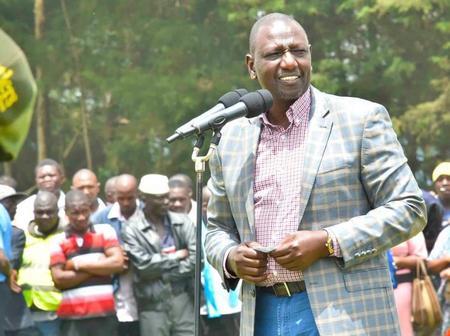 What DP Ruto Did in Kakamega Church That Has Left Kenyans Calling Him a Fake Hustler