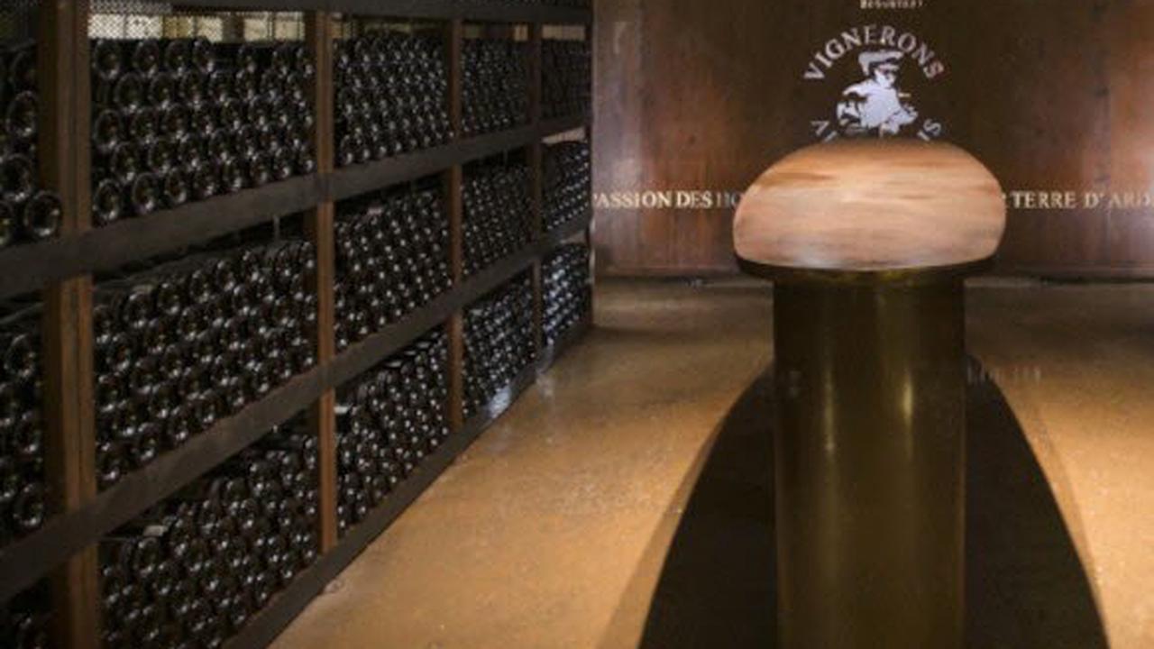 À découverte de la vinothèque de l'Aven d'Orgnacdes trésors cachés
