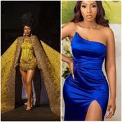 Reactions trail ex -BBNaija winner, Mercy's outfit to the Premiere of