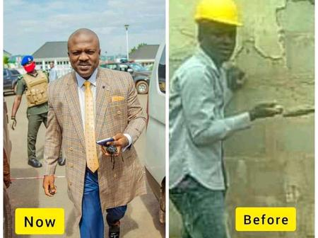 Reactions As Igbo Businessman Shares Throwback Photo Of When He Was Struggling