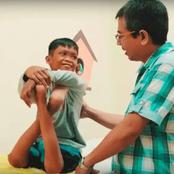 """""""Help will come just believe.""""2 years After He Was Operated For Having Maimed Legs, See How He looks"""