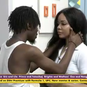 BBNaija:Nengi Cried After Ozo Ignored Her During The Last Party. Look At What Laycon Told Her