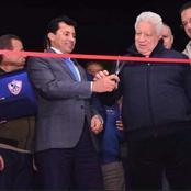 العسال مطالبا وزير الرياضة: اجتمع مع مرتضى منصور فالاتفاق معه سينقذ الزمالك