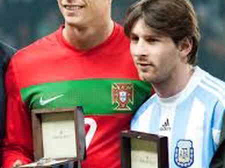 See Ronaldo and Messi's statistics.