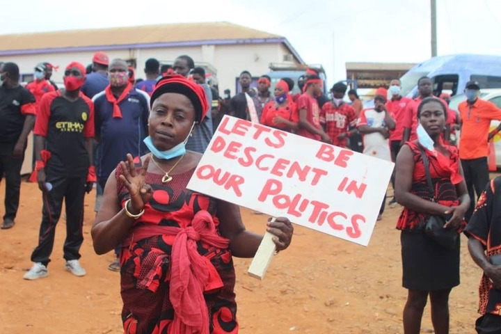 """0f6cf886da7d1d030cd7ea0f78c9960b?quality=uhq&resize=720 - """"We Can Say & Do Worse oo"""" - Demonstration Against Mahama for His 'Akyem Sakawa Boys' Comment Is Ongoing (Photos)"""