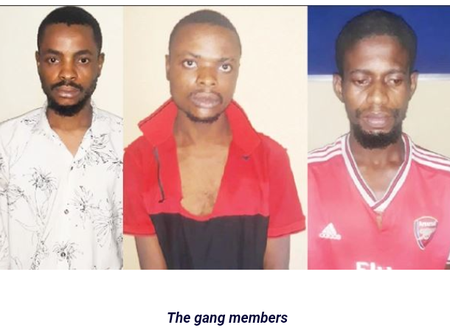 See The Three Kidnappers Who Were Arrested In River State