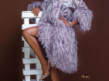 Today Is Actress Mary Remmy Njoku's Birthday, See Pictures Of Her Husband And Three Children