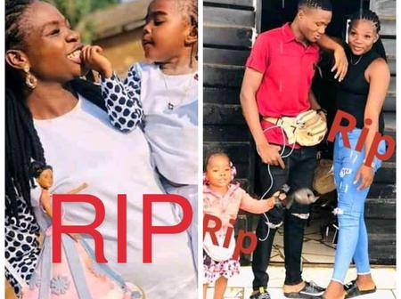 Lady Laments as She Mourns Her Friend and Baby