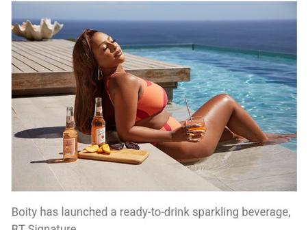 Boity has launched a beer Cider, and 24 pack is worth R600