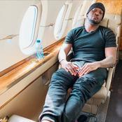 Mr P Poses Inside A Jet, Says