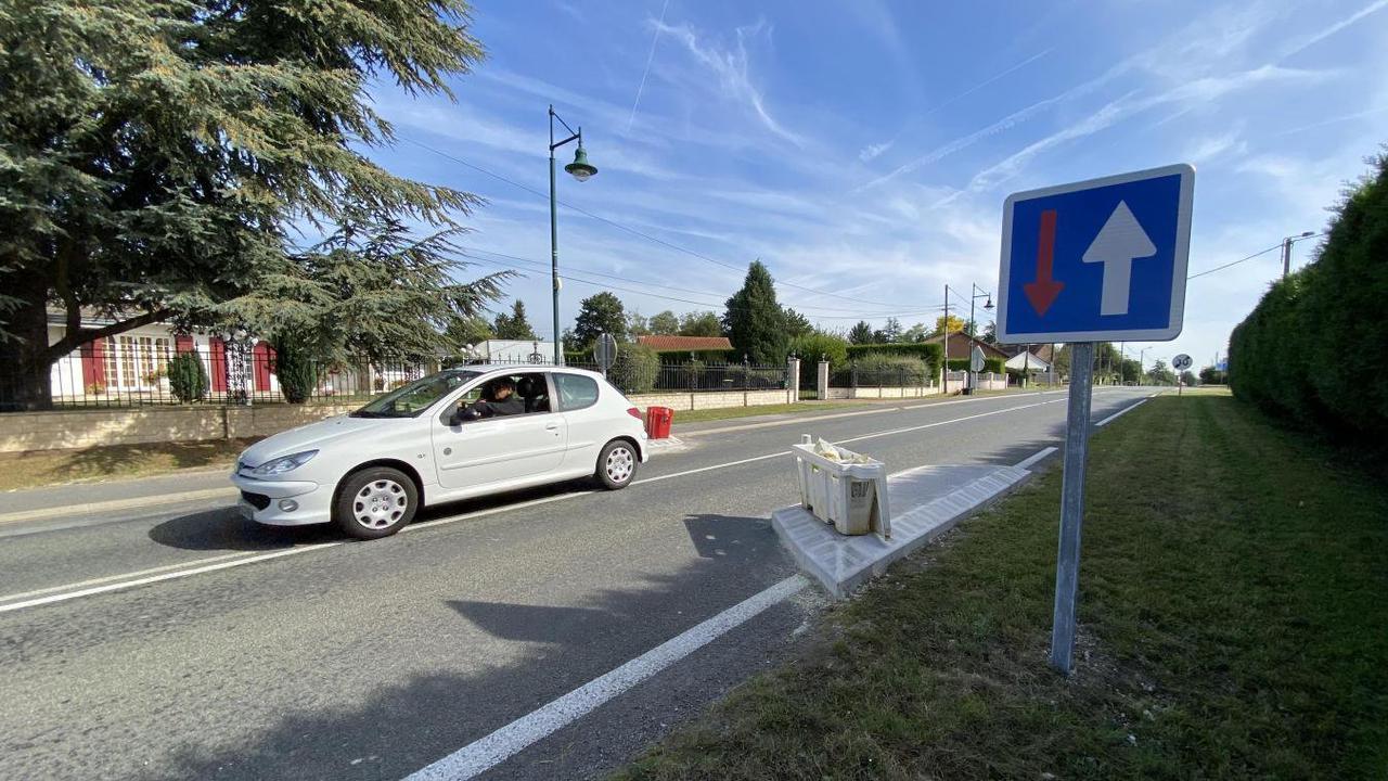 Quatre accidents en une soirée : à Angres, une route rétrécie qui pose question