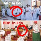 Edo 2020: Difference Between Obaseki's Visit To Oba of Benin Palace and That Of Pastor Ize-Iyamu