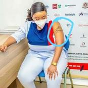 Reverend Lucy Natasha's Tatoo Elicit Reactions On Social Media