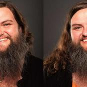 Meet The Lady With Beard Like A Man, See What She Looks Like After Shaving (Photos)