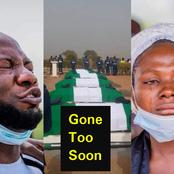 13 Emotional Photos Taken At The Burial Of 7 NAF Pilots That Lost Their Lives In Abuja Plane Crash