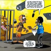 Hilarious: Akpos Got A Job In The Zoo And Later Experienced This.
