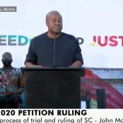 I disagree with the ruling of the Supreme Court - Mahama finally speaks out