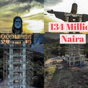 Despite The Pandemic, Brazil Builds One Of The Tallest Statues Of Jesus With A Budget Of N134Million